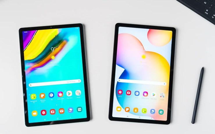 Samsung Galaxy Tab S6 Lite VS S5e comparison