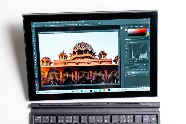 Lenovo IdeaPad Duet 3i Photoshop