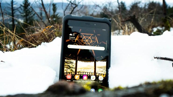 Samsung Galaxy Tab Active 3 outside
