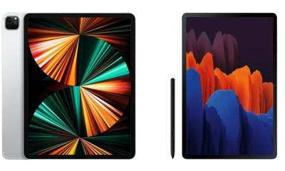 iPad Pro 12.9-inch (2021) vs Galaxy Tab S7 Plus