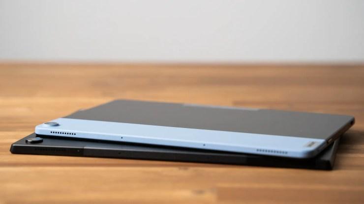 Lenovo Duet Chromebook vs. ASUS Chromebook CM3 speakers
