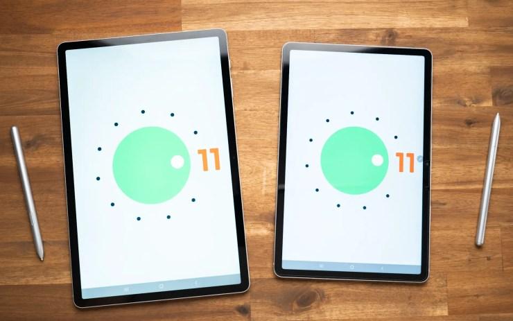 Samsung Galaxy Tab S7 FE Comparison Android 11