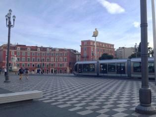 Nice Damier Place Masséna