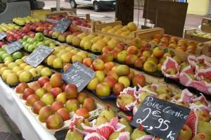 The market, Nice