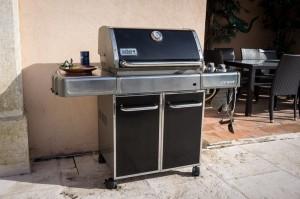 Weber Gas BBQ grill