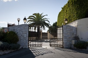 The Entrance Of The Gated Community
