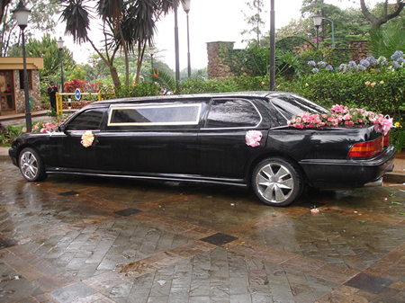 Wedding Limo in Lagos, Nigeria