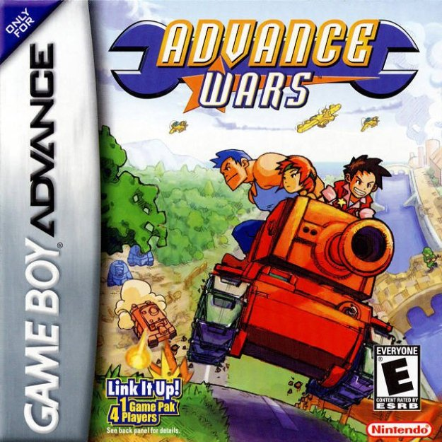 advance wars gba