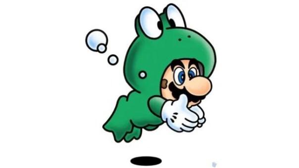 mario frog suit