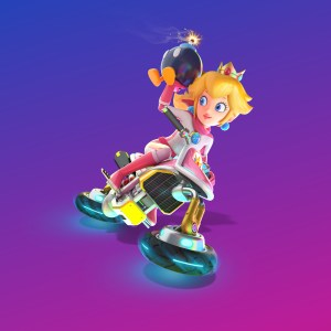 Peach is armed and fabulous.