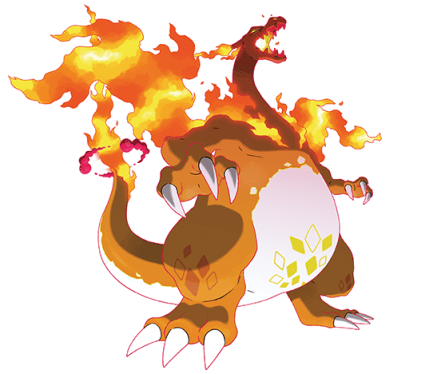 Gigantamax Charizard Official Art