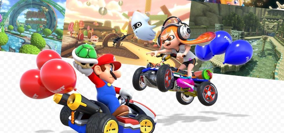 Mario Kart 8 deluxe art