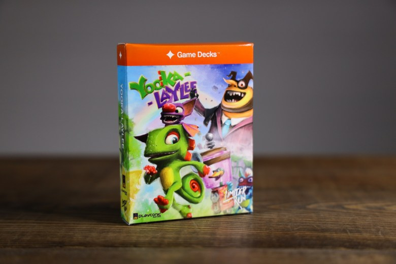 01 Yooka Laylee Game Decks solo 1 Game Decks & Limited Run Games announce Yooka-Laylee board game and soundtrack