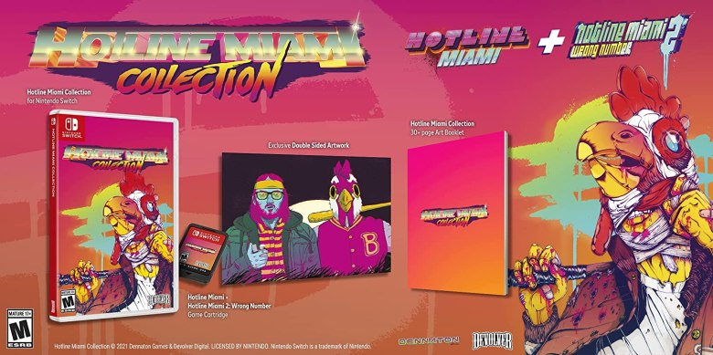 Hotline miami physical US: Hotline Miami Collection physical editions pre-orders go live via major retailers