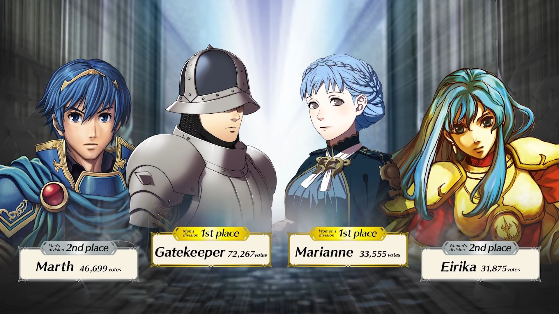 fire emblem heroes choose your legends winners
