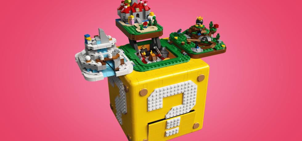 lego Mario 64 block