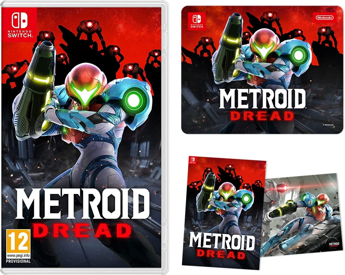 Amazon UK reveals Metroid Dread pre-order bonuses - My Nintendo News
