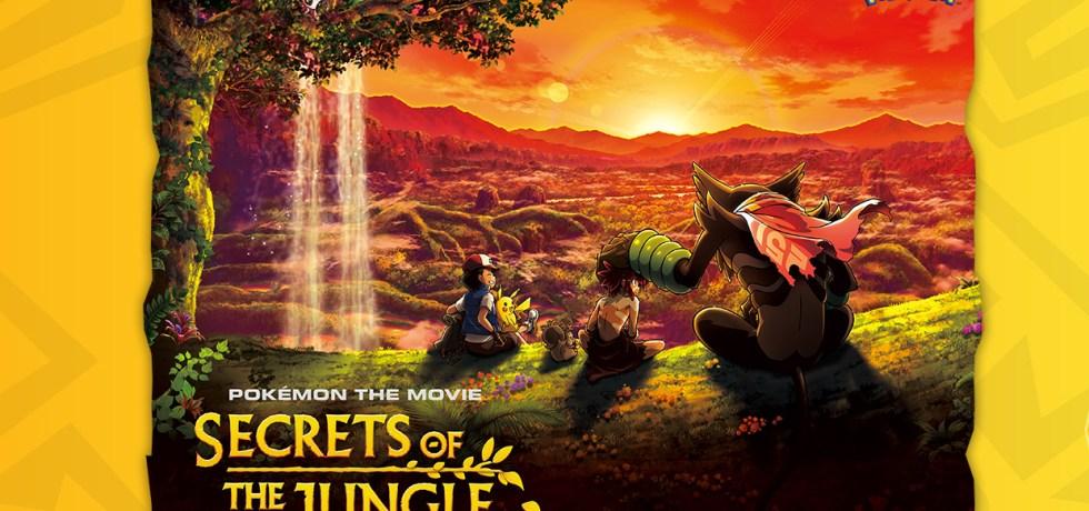 pokemon movie secrets of jungle