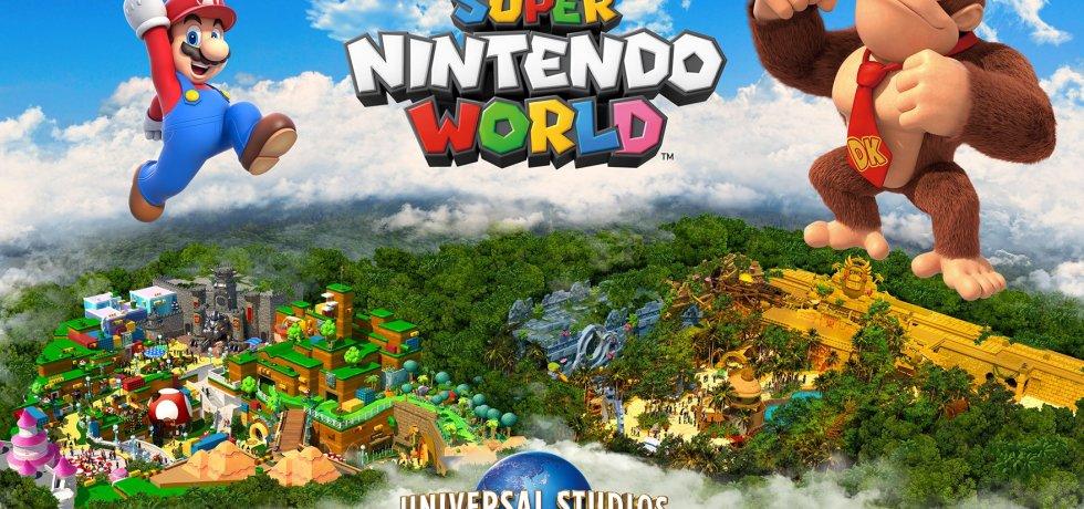 Donkey Kong at Super Nintendo world