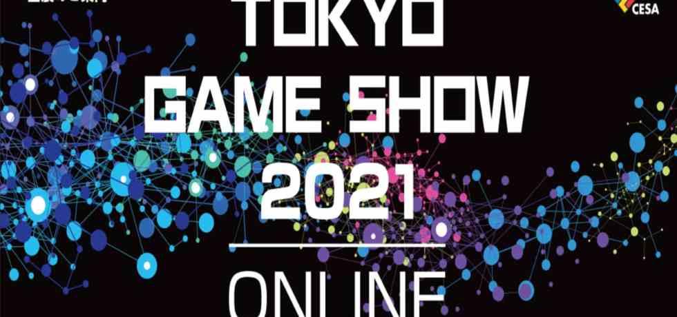 Tokyo game show 2021 logo