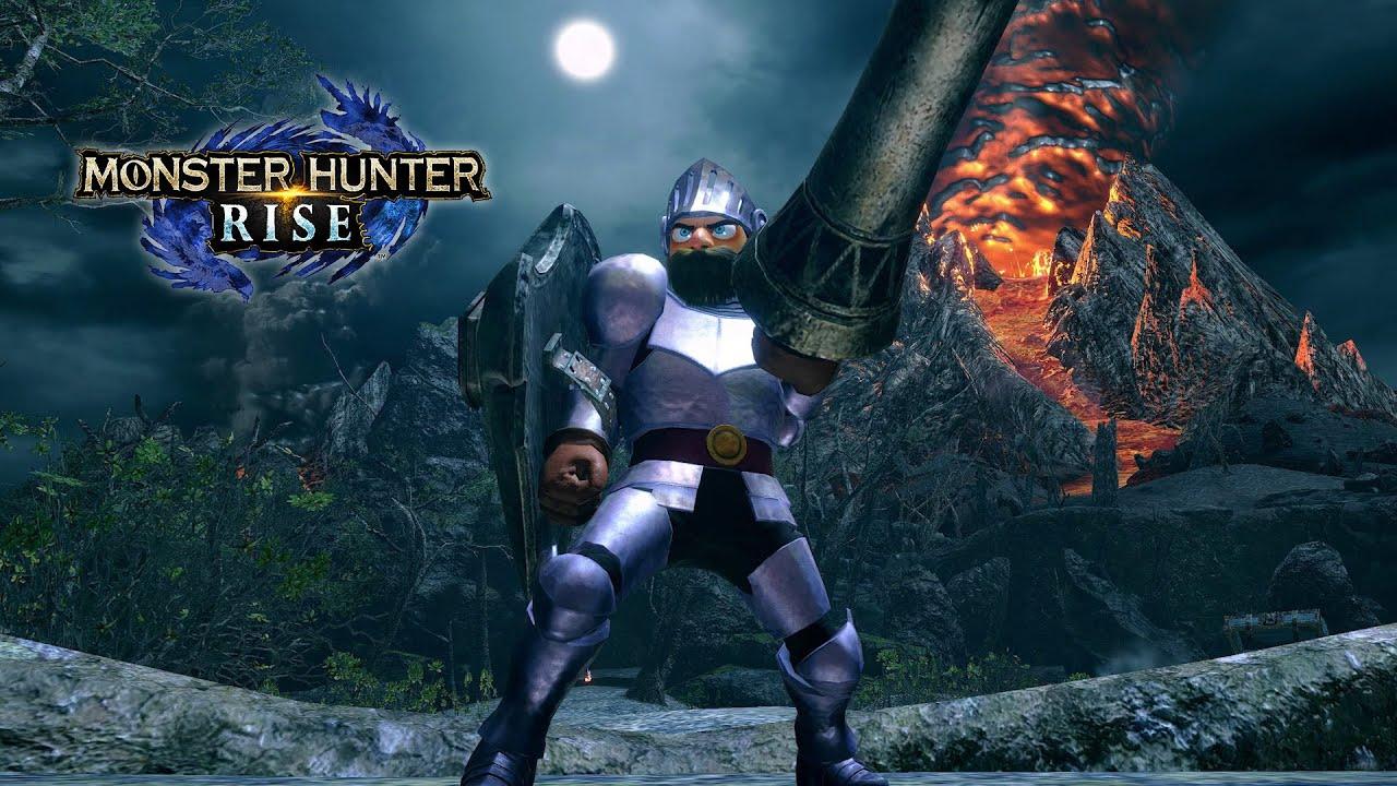 monster hunter rise ghost n goblins collab