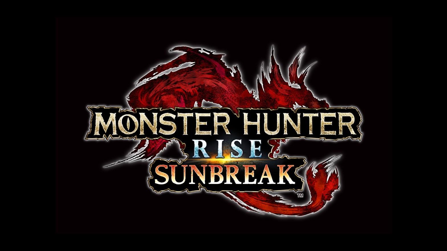 monster hunter rise sunbreak dlc logo