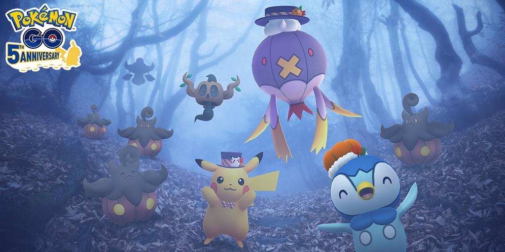 pokemon go halloween 2021