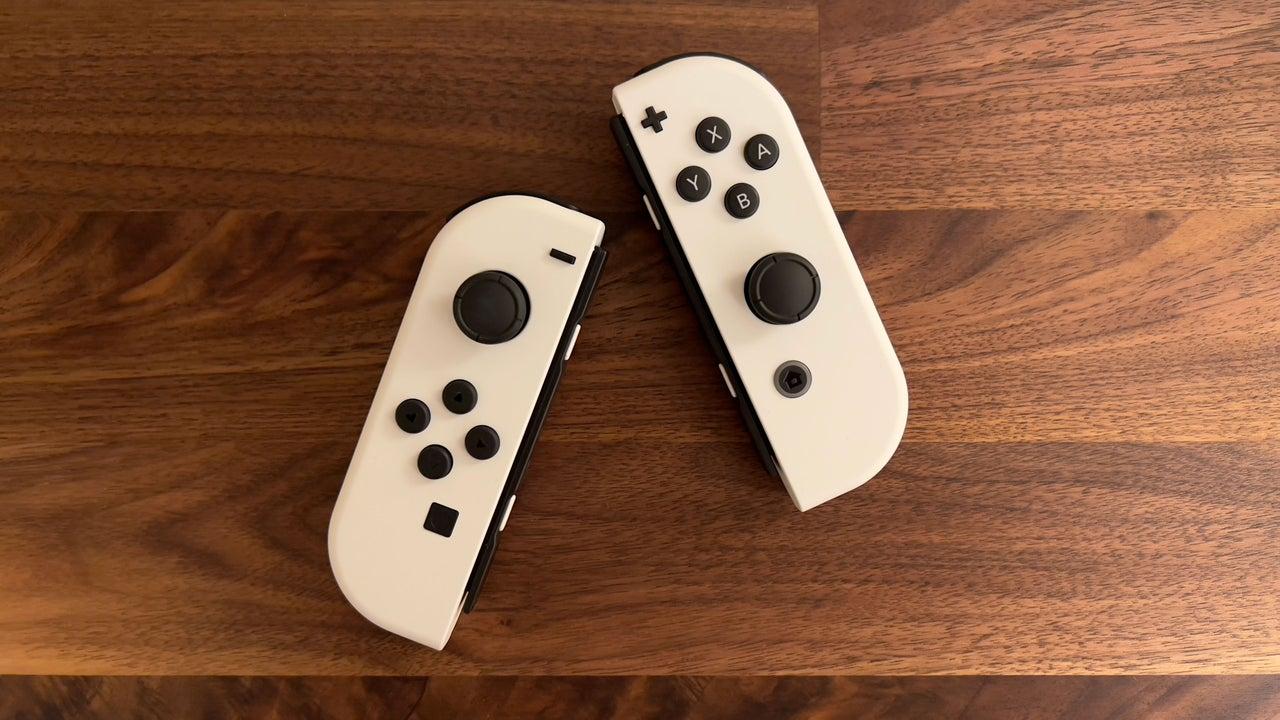 switch OLED joy-cons