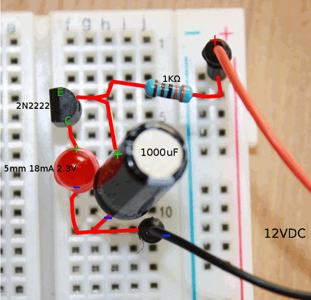 Circuit Led Flasher Circuit Universal 3v Circuits Designed By
