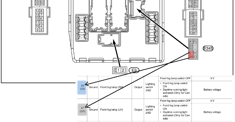 Nissan An Fog Light Wiring Diagram Nissan-van-fog-light