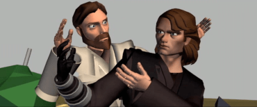Anakin and Obi-Wan Getting Along