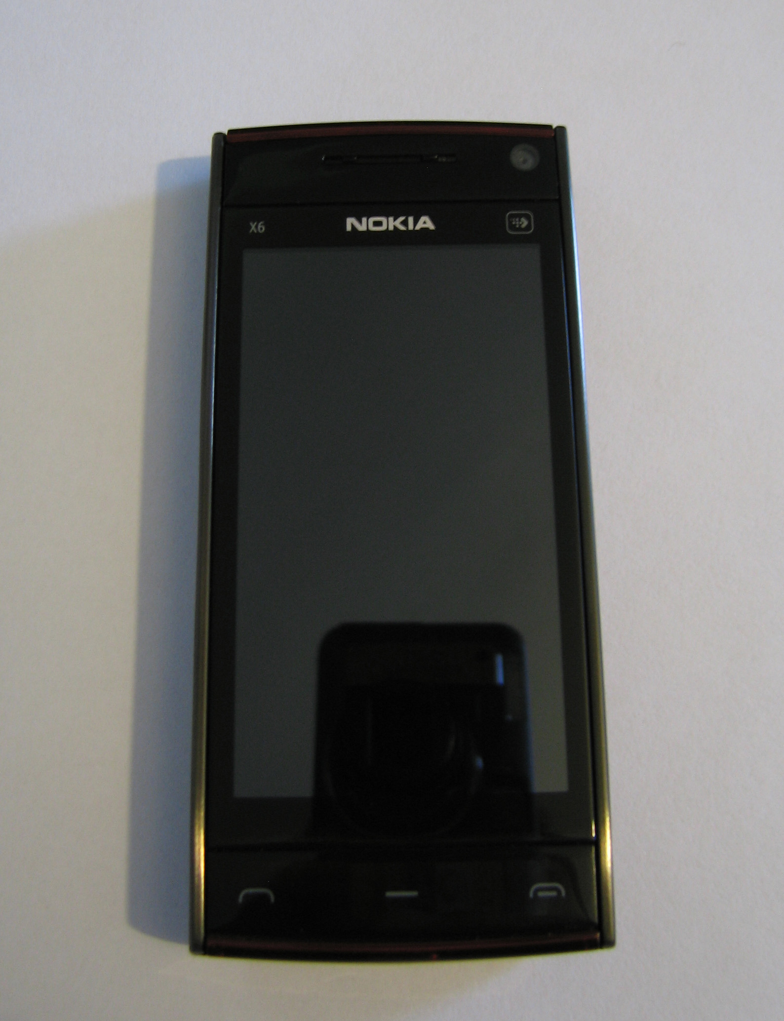 Nokia X6 – Front Powered Off