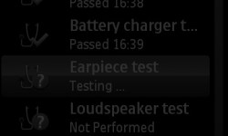 Earpiece Test