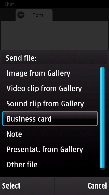 File sharing types