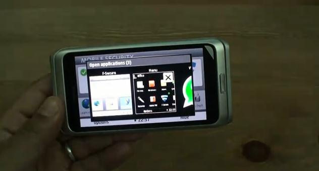 e7 multitasking and f-secure