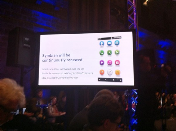 The New Symbian UI – Nokia N8 new Homescreen for upcoming