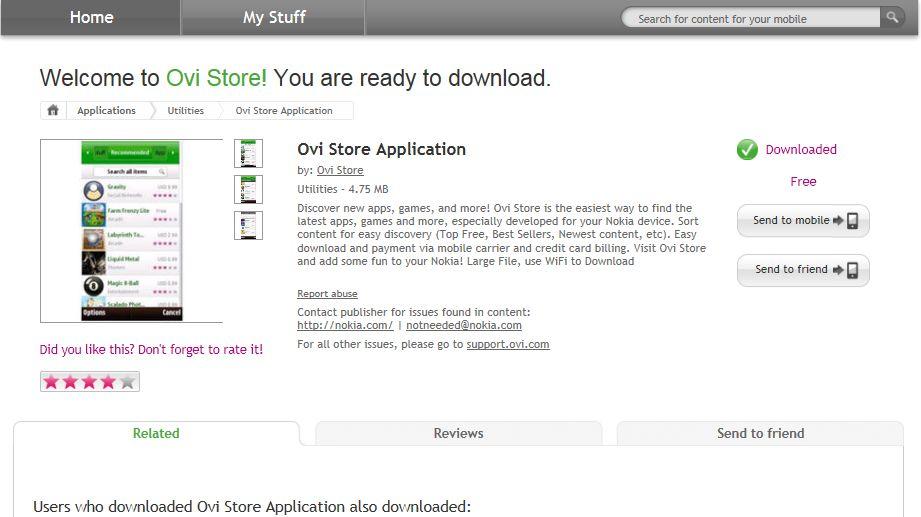 Ovi Store Download