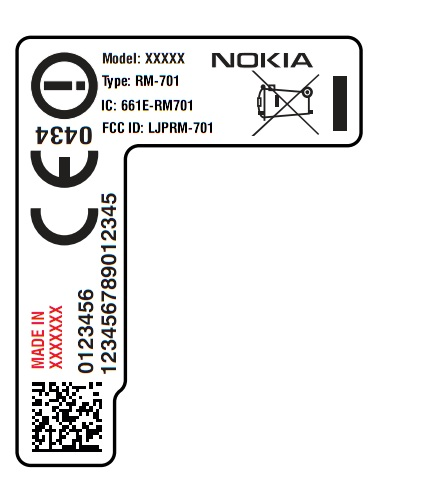 Nokia N5, RM-701 (Nokia 600/Cindy) passes FCC. : My Nokia