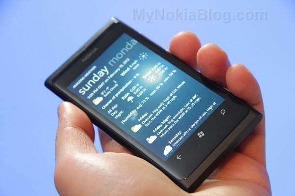 Amazing Weather Nokia Lumia 800(11)