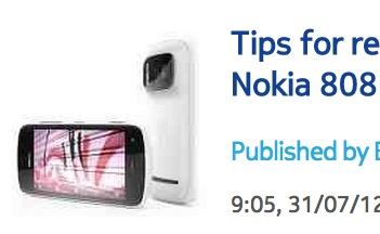Tips: Video Recording Concerts with your Nokia 808 PureView