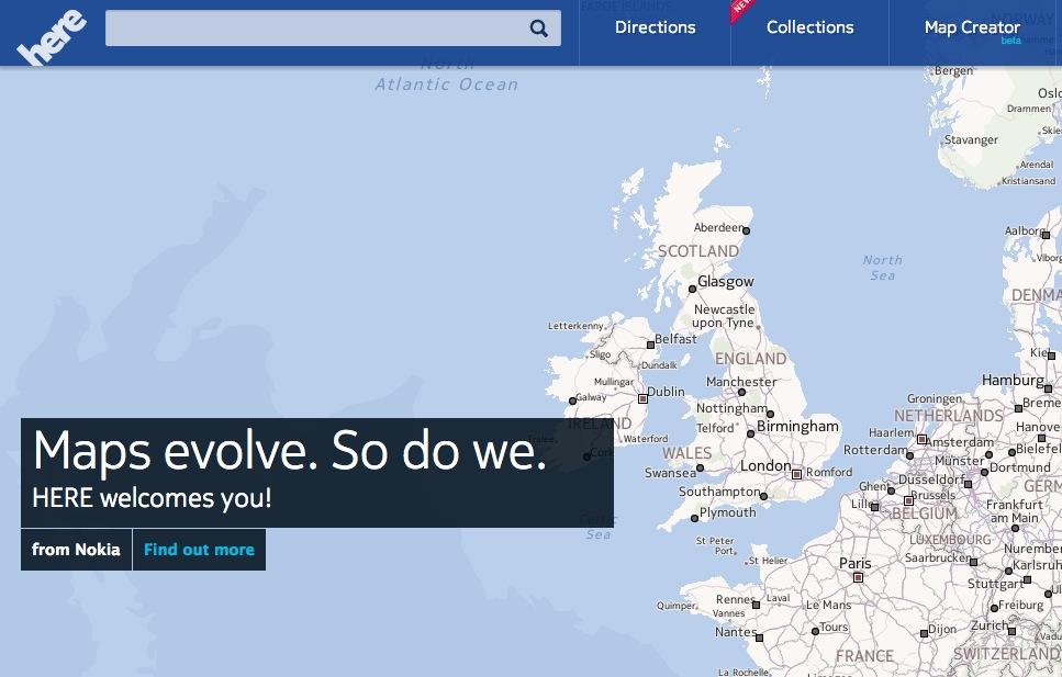 Google Blocks Maps for Windows Phone
