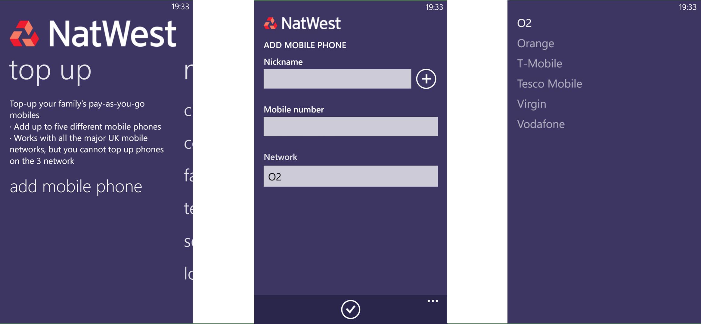 NatWest App (6) TopUp