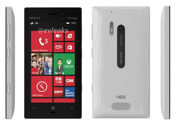 WHITE 928 NOKIA LUMIA