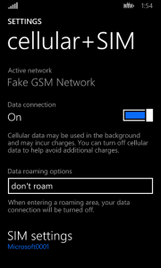 Data connection no longer a stupid list