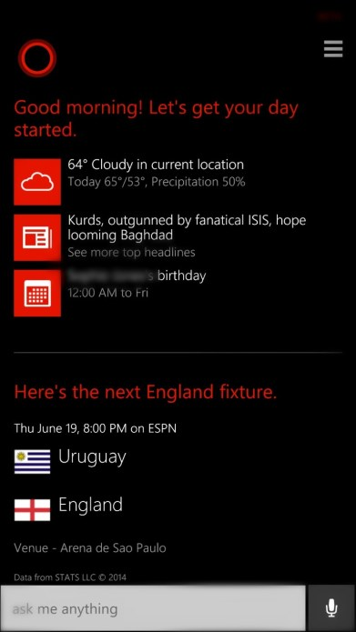 Cortana world cup interests(1)