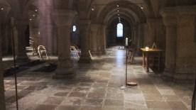 La cripta della cattedrale luterana
