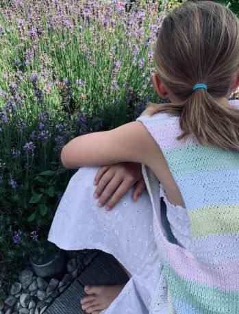 Baumwolle für Kinderpulli