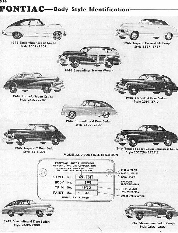 1946 pontiac streamliner station wagon