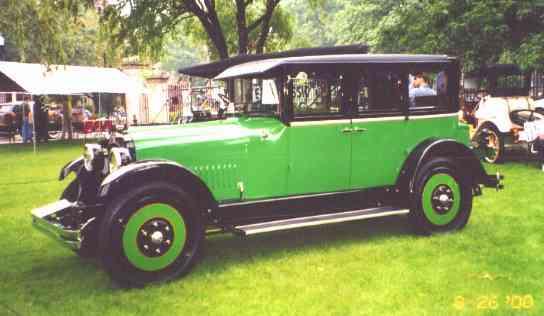 1923 Nash 6 cylinder, 4 Door Coupe