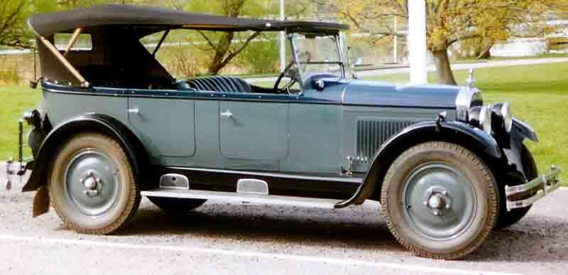 1927 Nash Six Touring